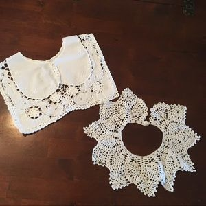Accessories - Lace Crocheted Collars Detachable